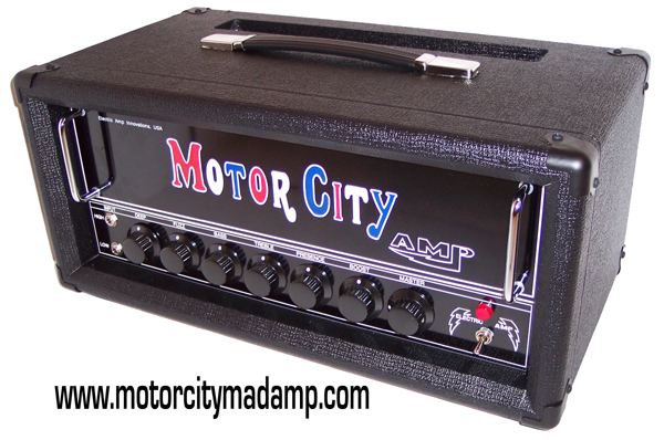 Motor City Madamp Tube Amps And Speaker Cabinets For